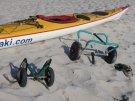 Wózki kajakowe Kano i Super-light