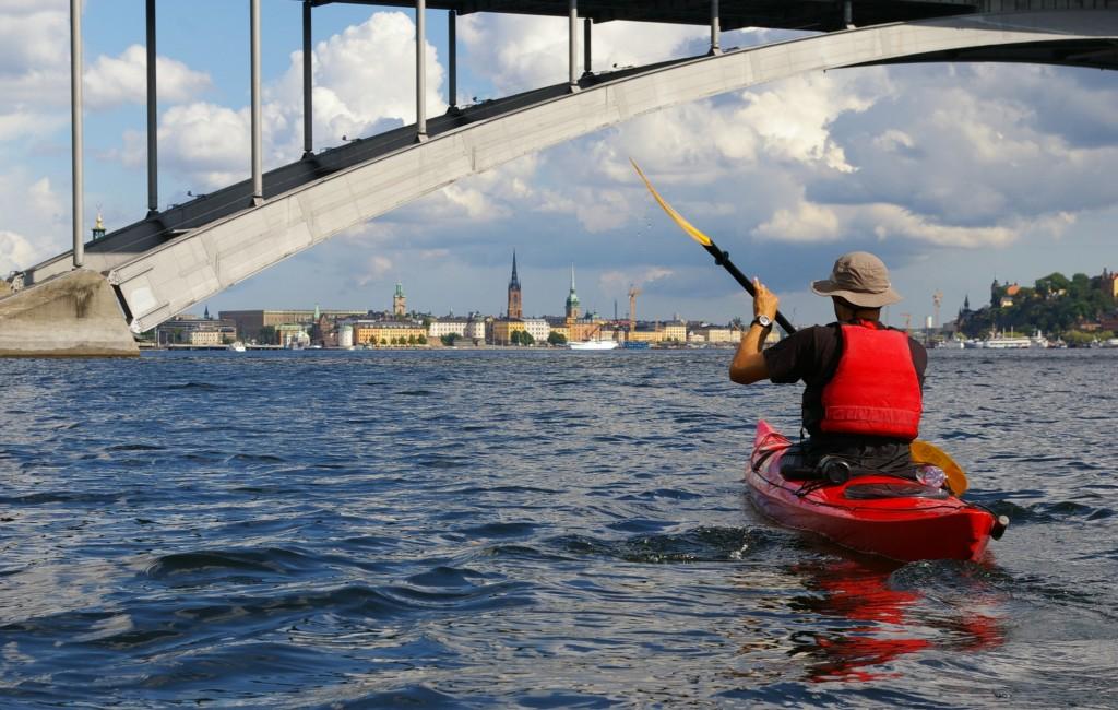 Szokholm - pierwszy widok