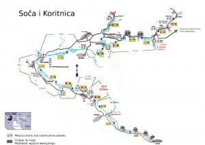 Soca - mapa