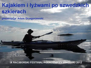 Slajd tytułowy prezentacji Adama Grzegorzewskiego