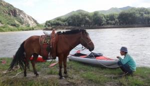 Kajakiem w kraju Czyngis-chana