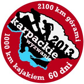 Logo wyprawy Karpackie Wyzwanie 2013