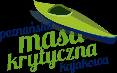 Logo Poznańskiej Kajakowej Masy Krytycznej