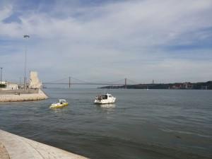 Olek startuje z Lizbony (fot. Michał Mikutowski)