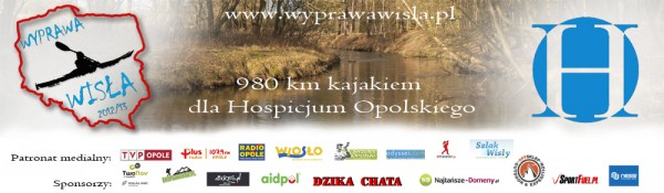 """Baner wyprawy """"Wisła 2012/13"""""""