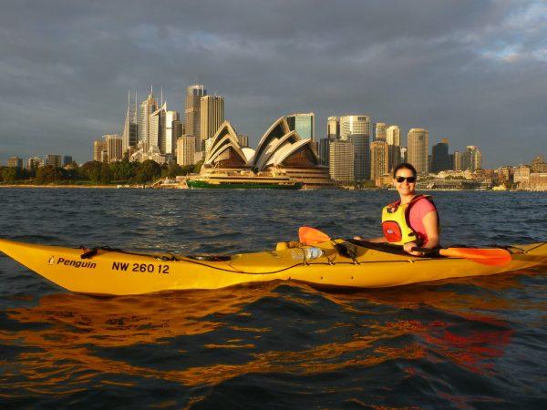 Kajakiem po Sydney (fot. Patrick Dibben, www.kayaksydney.com)