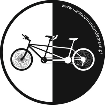 "Logo projektu ""Niewidomi na Tandemach"""