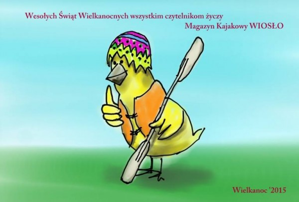 Wielkanocne życzenia (rys. Maciej Górecki)