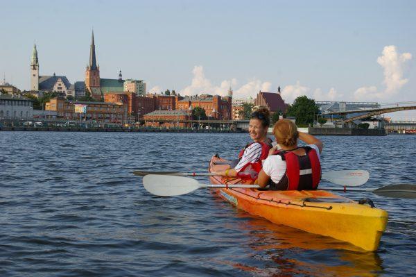 Szczecin - pływający ogród (fot. Kinga Kępa)
