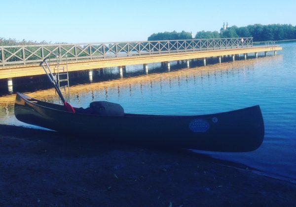 Jezioro Wigry. Gotowi do drogi