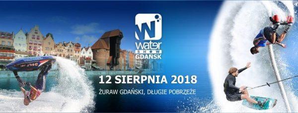 Water Show Gdańsk 2018 - Baner wydarzenia