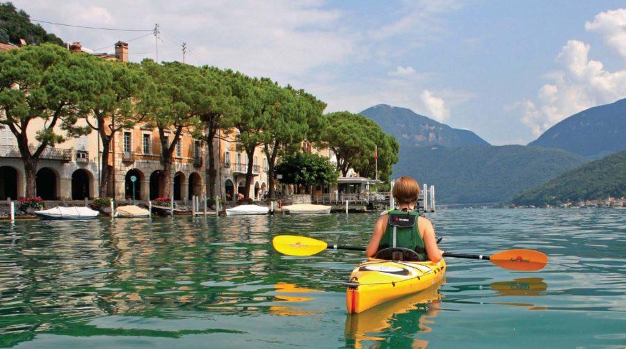 Jezioro Lugano. Fot. Bartłomiej Niżnik
